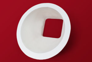 Alumina reducers - round to square