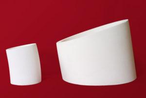 Alumina tru arc wear pipes